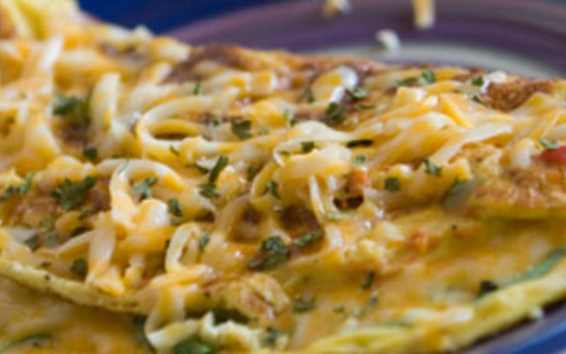 Recette omelette courgette-tomates économique et rapide ...