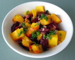 Recette salade de betteraves et mangues