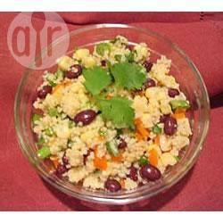Recette salade de couscous aux haricots noirs – toutes les recettes ...