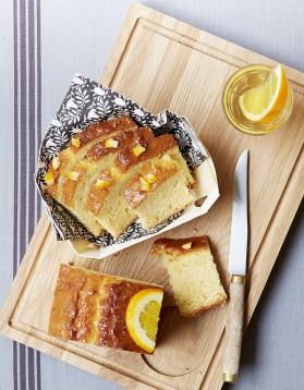 Gâteau à l'orange et muscat pour 6 personnes