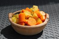 Recette de couscous aux légumes du potager