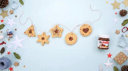 Recette de biscuits de noël au nutella®