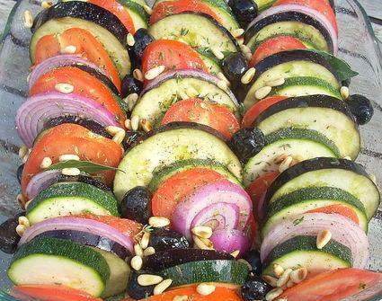Recette de tian aux légumes d'été