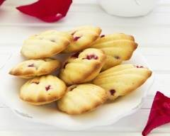 Recette madeleines aux fruits confits