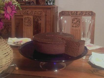 Recette de gâteau moelleux au chocolat express
