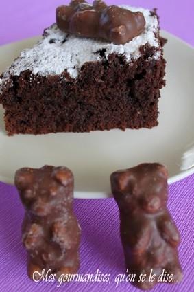 Recette de moelleux au chocolat des oursons