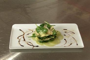 Recette de marinade d'artichauts et d'aubergines à l'huile d'olive et ...
