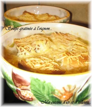 Recette de soupe gratinée à l'oignon de grand-mère