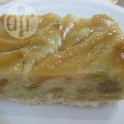 Recette tarte aux pommes et à la pâte d'amandes – toutes les ...