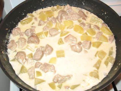 Recette de filet mignon au maroilles et oignon