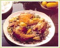 Recette poulet mariné au citron et à l'orange