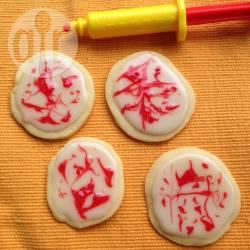 Recette biscuits tâche de sang pour halloween – toutes les ...
