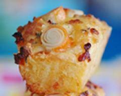 Recette cake au surimi, tomates confites et poivrons grillés
