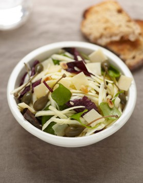 Salade de panais cru pour 4 personnes