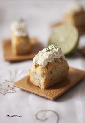 Recette de cupcakes au saumon fumé