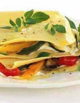 Lasagnes aux légumes du soleil pour 6 personnes