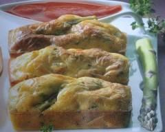 Recette minicakes poulet asperges