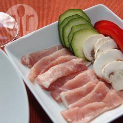 Recette pierrade™ de veau à la meldoise – toutes les recettes ...