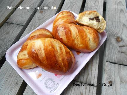 Recette de pains viennois au chocolat