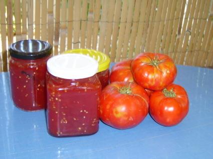 Recette de confiture de tomates du jardin