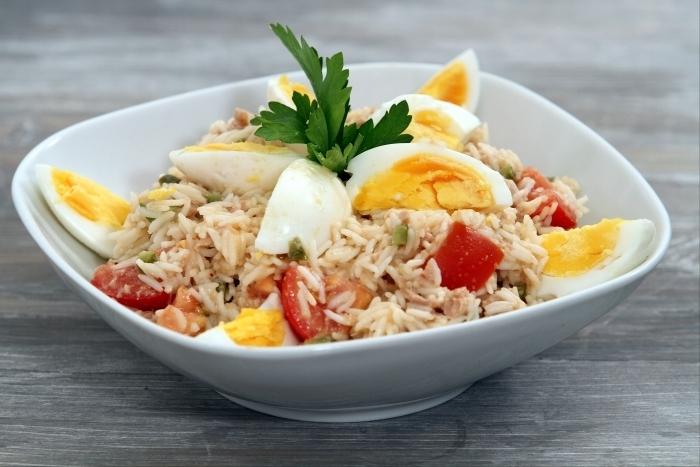 Recette de salade de riz au thon à notre façon facile et rapide