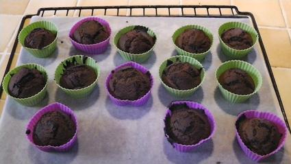 Recette de recette de muffins au chocolat