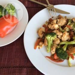 Recette blancs de poulet au brocolis et au poivron – toutes les ...