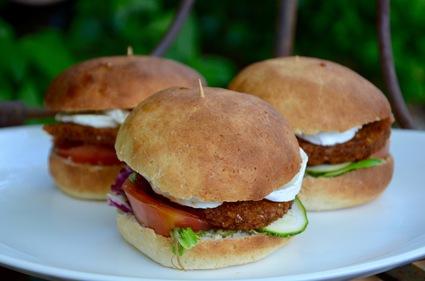 Recette de burger végétarien provençal