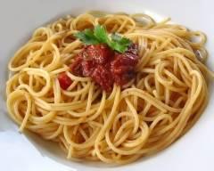 Recette spaghetti alla puttanesca pauvre en sel