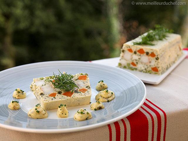 Terrine de lotte aux petits légumes  la recette avec photos ...