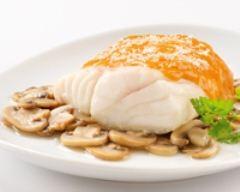 Recette filet de cabillaud au coulis de homard