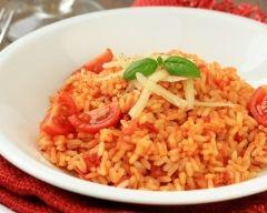 Recette risotto aux tomates cerises et parmesan