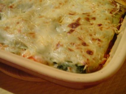 Recette de lasagnes aux deux saumons