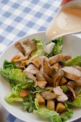 Recette de salade caesar aux pleurotes