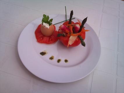 Recette de tomates mozzarella revisitée