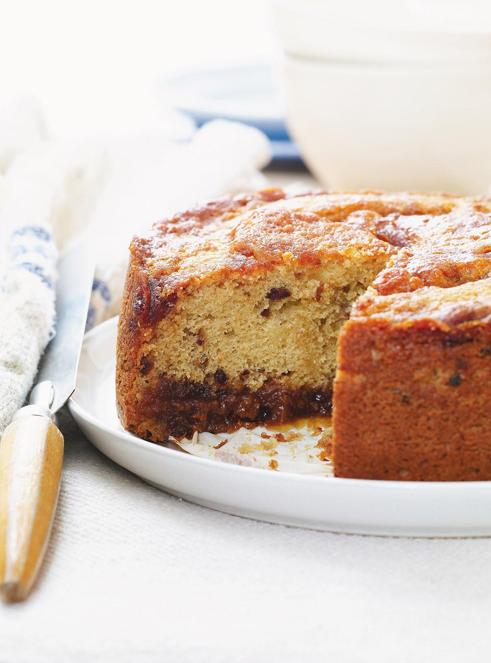 Gâteau au caramel aux dattes | ricardo