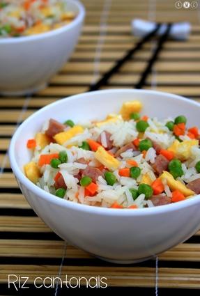Recette de riz cantonais maison