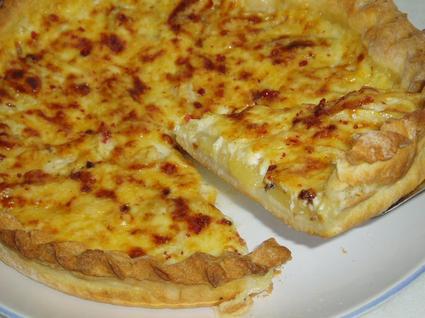 Recette de tarte aux pommes et au gouda