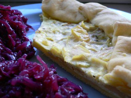 Recette de tarte pommes de terre et brousse