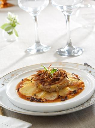 Recette de pommes de terre ratte du touquet au foie gras