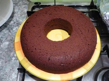 Recette de couronne de chocolat noir au gingembre