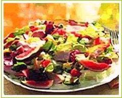 Recette effilochée de poulet en salade