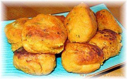 Recette de croquettes de patates douces