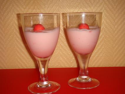 Recette de mousse de fraises tagada