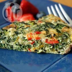 Recette omelette espagnole aux épinards – toutes les recettes ...