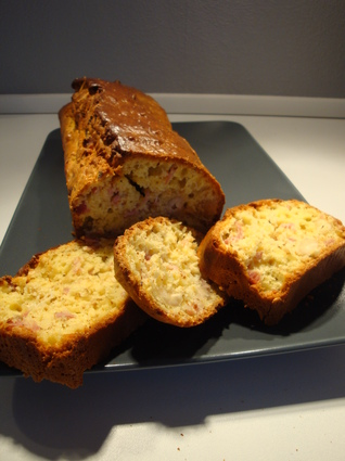Recette de cake lardons-noix de cajou