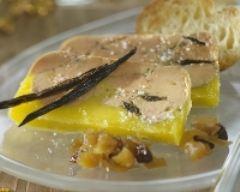 Recette terrine de foie gras à la vanille