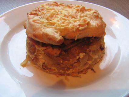 Recette de hamburger à l'oignon