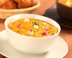 Recette soupe de pommes et carottes