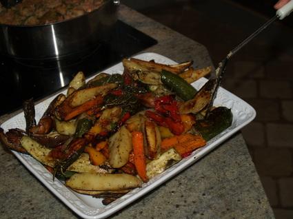 Recette de légumes d'été au four